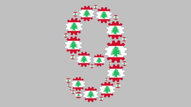 libanesiskt nummer nio - nummer 9 bildbanksvideor och videomaterial från bakom kulisserna