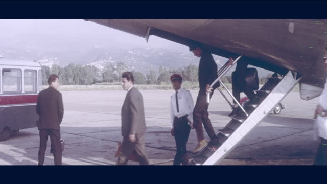 1968 lebanon - airport - leaving stock videos & royalty-free footage
