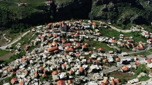 lebanon: bcharre - village stock videos & royalty-free footage