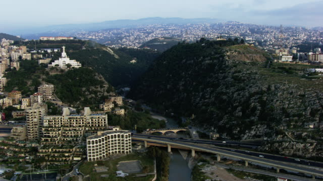 lebanon: city and roads of beirut - beirut stock videos & royalty-free footage