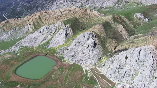 Lebanon : Water storage in the Lebanese valley