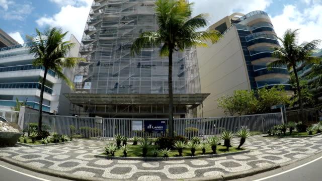 レブロンビーチ、リオデジャネイロ - レブロン点の映像素材/bロール
