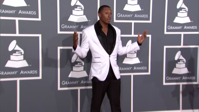 lecrae at the 55th annual grammy awards arrivals in los angeles ca on 2/10/13 - grammy awards stock videos and b-roll footage