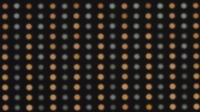 led light display abstract background - led stock videos & royalty-free footage