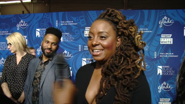 ledisi talked about why it's important that essence celebrates black women in music every year, who she is rooting for in the grammy's album of the... - storyteller stock videos & royalty-free footage
