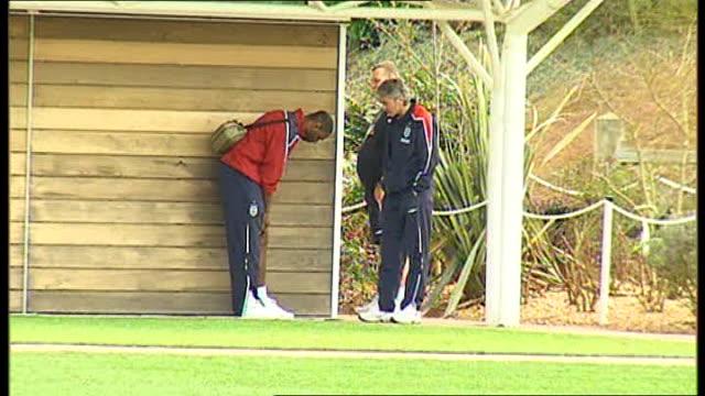 Ledley King Profile Various Ledley King At Tottenham Hotspur Training Session