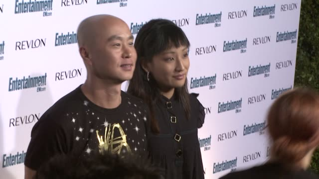 lee at the entertainment weekly 6th annual pre-emmy party at los angeles ca. - エンターテインメント・ウィークリー点の映像素材/bロール
