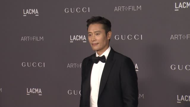 Lee Byunghun at the 2017 LACMA Art Film Gala Honoring Mark Bradford And George Lucas And Presented By Gucci at LACMA on November 4 2017 in Los...