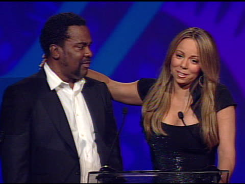 lee daniels and mariah carey on thanking lee daniels and the festival - mariah carey stock videos and b-roll footage