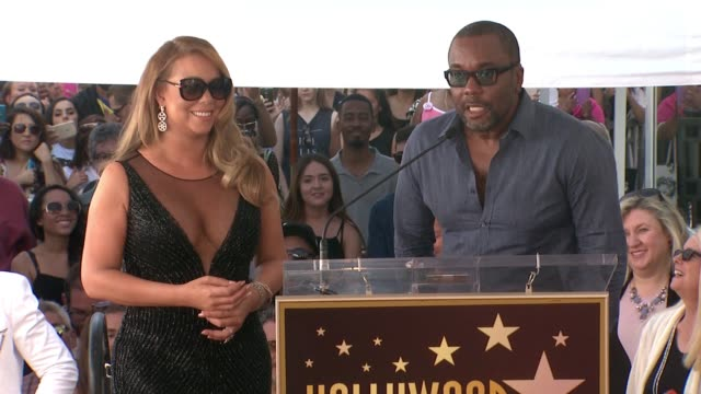 speech lee daniels at mariah carey honored with star on the hollywood walk of fame on august 05 2015 in hollywood california - mariah carey stock videos and b-roll footage