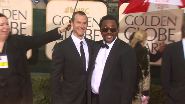 lee daniels at the 67th annual golden globe awards arrivals part 3 at beverly hills ca - ゴールデングローブ賞点の映像素材/bロール