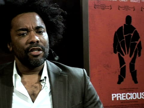 Lee Daniels on what he learnt on the film and the prejudices he overcame at the Cannes Film Festival 2009 Precious Interviews at Cannes
