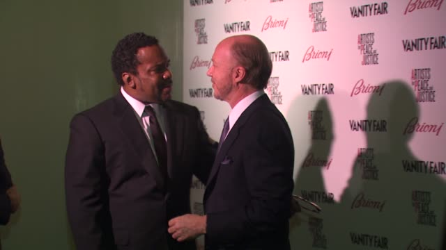 lee daniels , paul haggis at the vanity fair and brioni host artists for peace & justice at beverly hills ca. - paul daniels stock videos & royalty-free footage