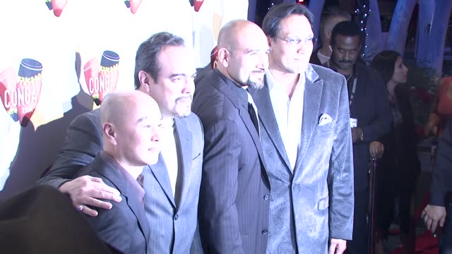cs lee david zayas jason manuel olazabal jimmy smits at the conga room grand opening at los angeles ca - jimmy smits stock videos and b-roll footage