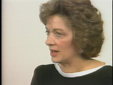 lee hart, wife of us presidential candidate gary hart, says she plans to join him now that her sinus infection has cleared. - denver stock videos & royalty-free footage