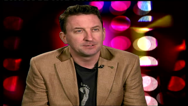 lee mack interview; england: london: int lee mack interview sot - on third series of 'not going out' that starts this friday - friday stock videos & royalty-free footage