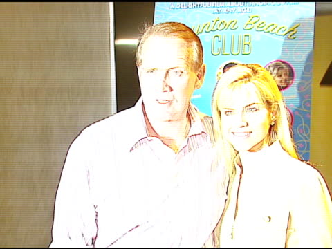 lee majors and faith majors at the 'boynton beach club' los angeles premiere at silver screen theater @ the pacific design center in west hollywood... - lee majors stock videos and b-roll footage
