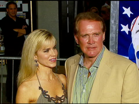 lee majors and faith majors at the 'talladega nights the ballad of ricky bobby' los angeles premiere at grauman's chinese theatre in hollywood... - lee majors stock videos and b-roll footage