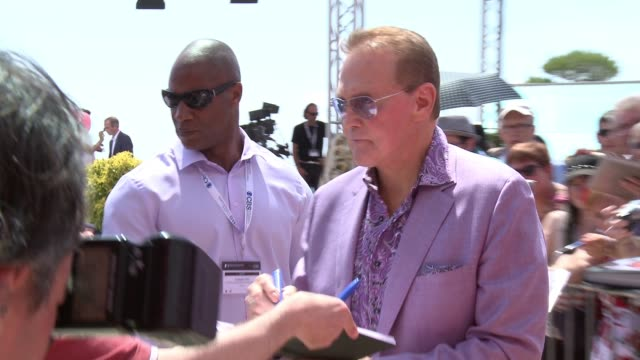 lee majors at 55th monte carlo tv festival day 2 on june 16 2015 in montecarlo monaco - lee majors stock videos and b-roll footage