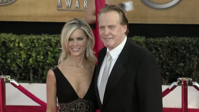 lee majors at the 16th annual screen actors guild awards arrivals at los angeles ca - lee majors stock videos and b-roll footage