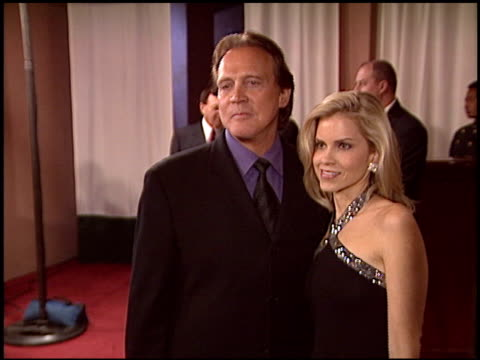 lee majors at the night of 100 stars oscar gala at the beverly hilton in beverly hills california on february 29 2004 - lee majors stock videos and b-roll footage