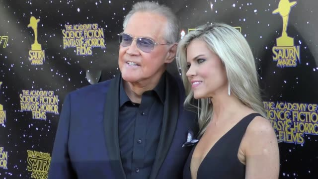 lee majors faith majors at the 43rd annual saturn awards on june 28 2017 in burbank california - lee majors stock videos and b-roll footage