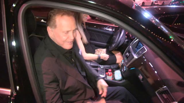 lee majors faith majors departing craig's in west hollywood celebrity sightings in los angeles on june 3 2015 in los angeles california - lee majors stock videos and b-roll footage