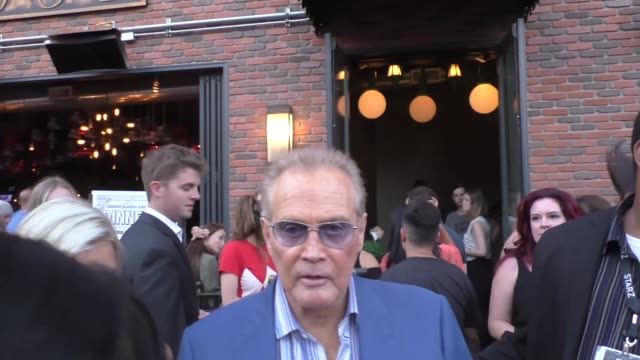 interview lee majors on 'the six million dollar man' with matt damon at san diego comiccon international at celebrity sightings at comiccon on july... - lee majors stock videos and b-roll footage
