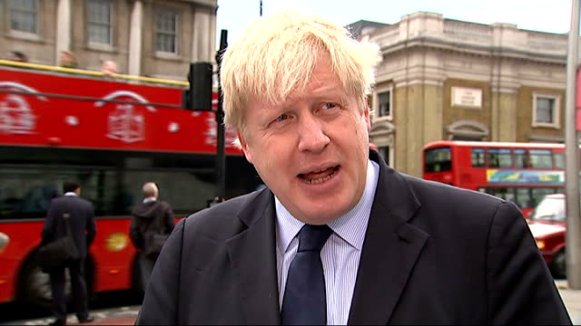 woolwich attack first anniversary london boris johnson interview sot i'm not concerned about that i think that a year on from his awful awful brutal... - brutal killing stock videos & royalty-free footage
