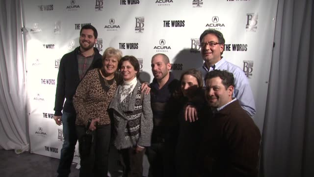 Lee Sternthal at Acura Hosts 'The Words' Cast Dinner At The Acura Studio in Park City Utah on 1/26/2012