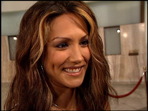 vidéos et rushes de leeann tweeden at the 'femme fatale' premiere at the cinerama dome at arclight cinemas in hollywood california on november 4 2002 - femme fatale