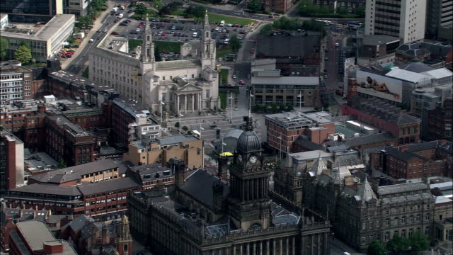 Leeds  - Aerial View - England, Leeds, United Kingdom