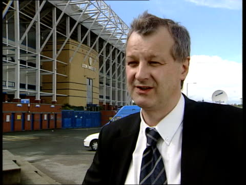 Leeds board meet to discuss relegation ITN Leeds Rogers and Doctor Bill Gerrard talking Doctor Bill Gerrard interview SOT There's a story that sums...
