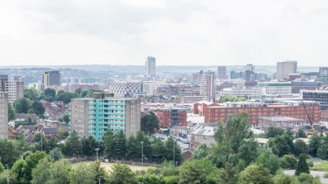 Leeds Skyline Time Lapse
