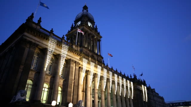 Leeds Town Hall at Night