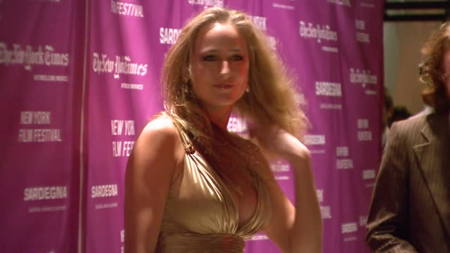 Leelee Sobieski at the New York Film Festival 'The Darjeeling Limited' Premiere Opening Night at Film Society of Lincoln Center in New York New York...