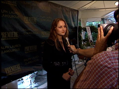 leelee sobieski at the women in hollywood luncheon at the four seasons hotel in los angeles, california on october 22, 2001. - four seasons hotel stock videos & royalty-free footage