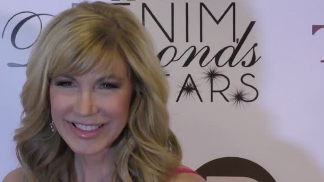 leeza gibbons at the 12th annual denim diamonds and stars on october 22 2017 in westlake village california - westlake village california stock videos & royalty-free footage