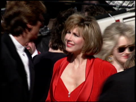leeza gibbons at the 1994 emmy awards at the pasadena civic auditorium in pasadena california on september 11 1994 - pasadena civic auditorium stock videos & royalty-free footage