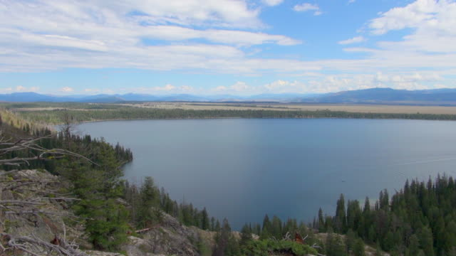left to right panning shot of grand teton national park - grand teton national park stock videos & royalty-free footage