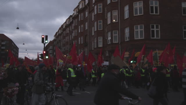 MS leftist demonstration at climate summit / Copenhagen, Denmark