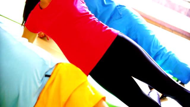 Leg exercise.