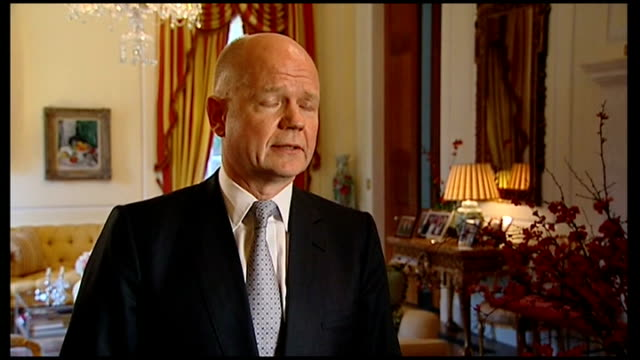 legacy of hilary clinton as us secretary of state british embassy william hague mp set up with reporter / interview sot but of course it doeas throw... - will.i.am stock videos & royalty-free footage