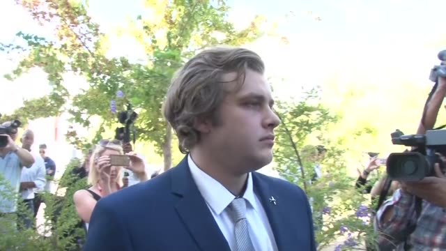 legal teams in south africa visit the de zalze estate in stellenbosch where henri van breda is alleged to have killed his brother rudi and parents... - stellenbosch stock videos and b-roll footage