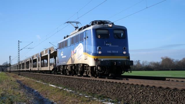 Lege autotrein tussen Osnabrück en Hannover