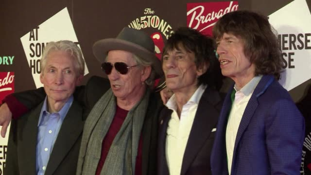 legendary british rock group the rolling stones teased fans on tuesday by announcing the release of a 50th anniversary greatest hits album amid... - album release stock videos and b-roll footage