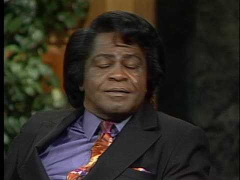 legendary soul singer james brown discusses his incarceration and come back. - crime or recreational drug or prison or legal trial stock videos & royalty-free footage