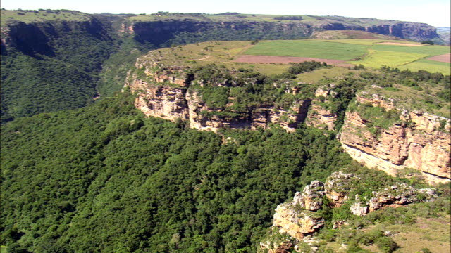 Lehr's Waterfall  - Aerial View - KwaZulu-Natal,  Ugu District Municipality,  Ezingoleni,  South Africa
