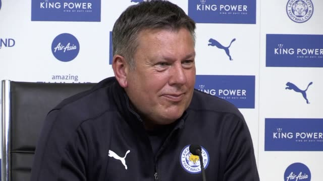 Leicester manager Craig Shakespeare speaks to the media ahead of the Premier League champions' clash with Watford this weekend