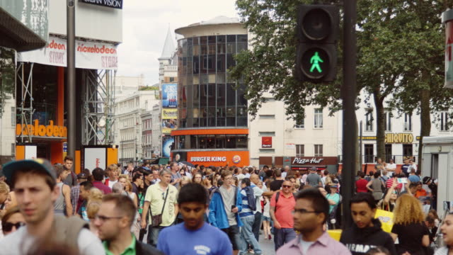 Leicester Square Crowds
